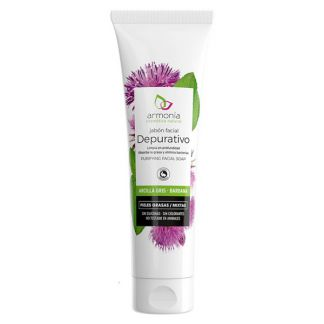 Jabón Facial de Arcilla Gris Armonía - 150 ml.