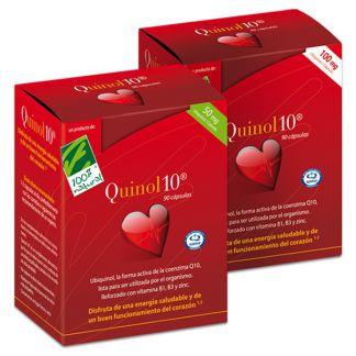 Quinol10 100 mg. Cien por Cien Natural - 30 perlas