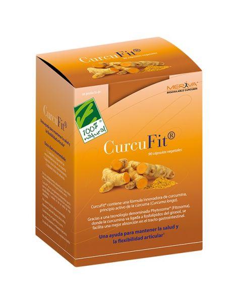 CurcuFit Cien por Cien Natural - 30 cápsulas