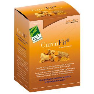 CurcuFit Cien por Cien Natural - 90 cápsulas