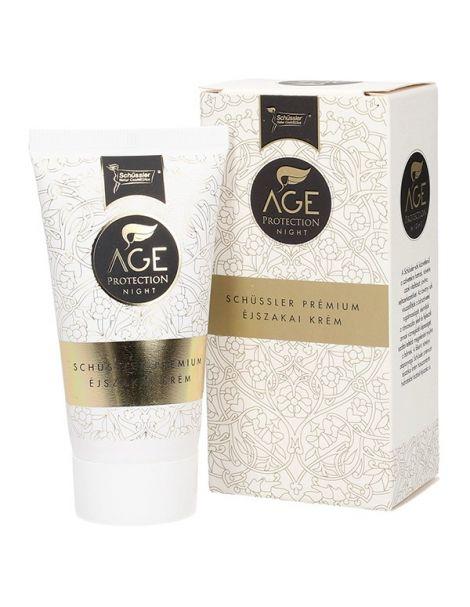 Crema de Noche Age Protection Shüssler Natur Cosmedics - 50 ml.