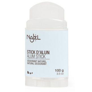 Stick Piedra Alumbre con Tapa Najel - 100 gramos