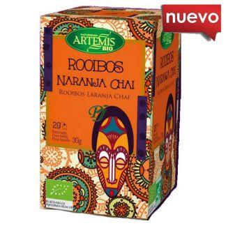 Té Rooibos Naranja Chai Bio Artemis Herbes del Molí - 20 bolsitas