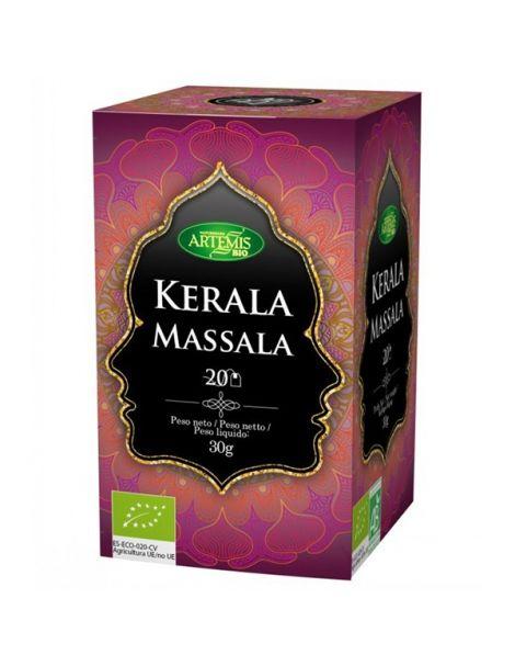 Té Kerala Massala Bio Artemis Herbes del Molí - 20 bolsitas