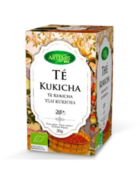 Té Kukicha Bio Artemis Herbes del Molí - 20 bolsitas