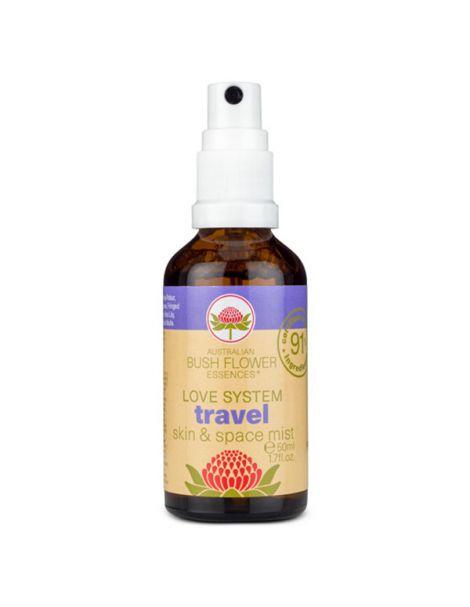 Spray Travel (Viaje) Bush Flower Essences - 50 ml.