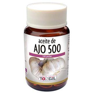 Aceite de Ajo 500 Tongil - 60 perlas