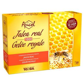 Apicol Jalea Real Tongil - 20 viales