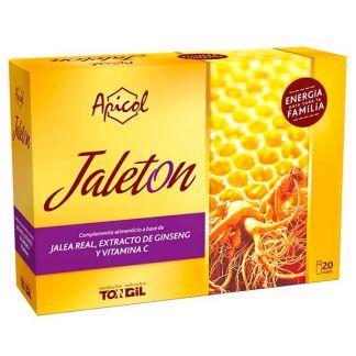 Apicol Jaleton Jalea Real y Ginseng Tongil - 20 ampollas