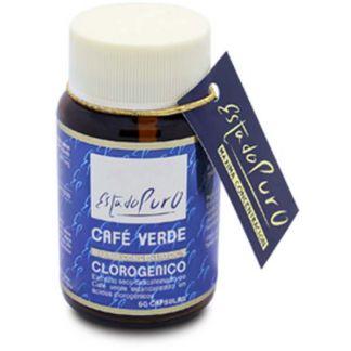 Café Verde Clorogénico Estado Puro Tongil - 60 cápsulas