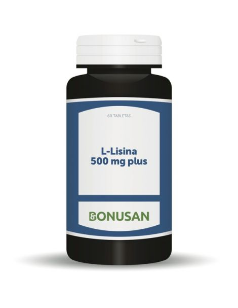 L-Lisina 500 mg. Plus Bonusan - 60 tabletas