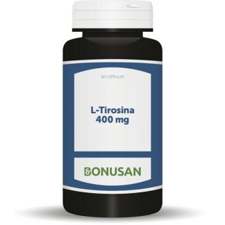 L-Tirosina 400 mg. Bonusan - 60 cápsulas