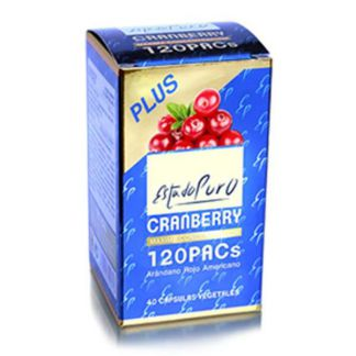 Cranberry 120 PACs Estado Puro Tongil - 40 cápsulas