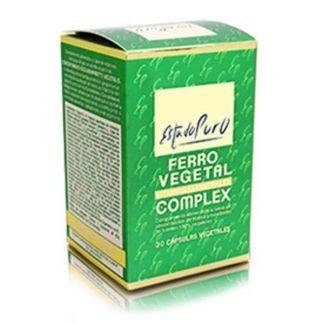 Ferro Vegetal Complex Estado Puro Tongil - 30 cápsulas