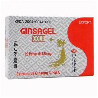 Ginsagel IL HWA Tongil - 20 cápsulas