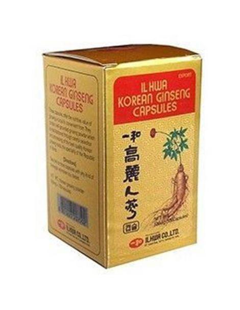 Ginseng IL HWA Tarro Tongil - 100 cápsulas