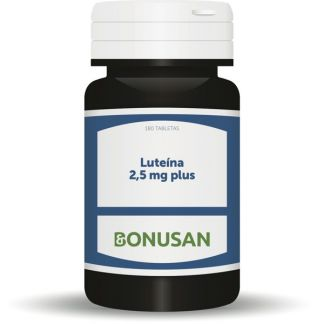 Luteína 2,5 mg. Plus Bonusan - 180 tabletas