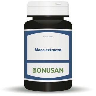 Maca Extracto 350 mg. Bonusan - 60 cápsulas