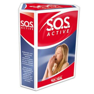 SOS Active Tongil - 3 x 60 ml.