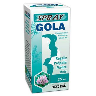 Spray Gola Tongil - 25 ml.