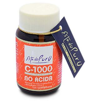 Vitamina C-1000 No Ácida Estado Puro Tongil - 100 comprimidos