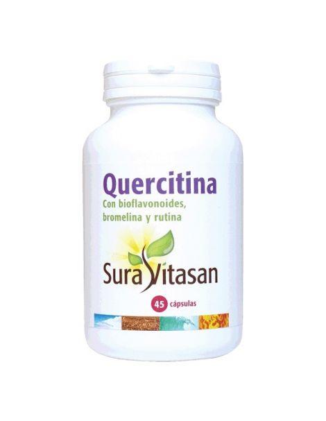 Quercitina 600 mg. Sura Vitasan - 45 cápsulas
