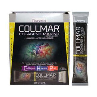 Collmar Colágeno Marino + Magnesio Limón Drasanvi - 20 sticks