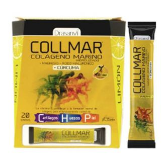 Collmar Magnesio + Cúrcuma Limón Drasanvi - 20 sticks