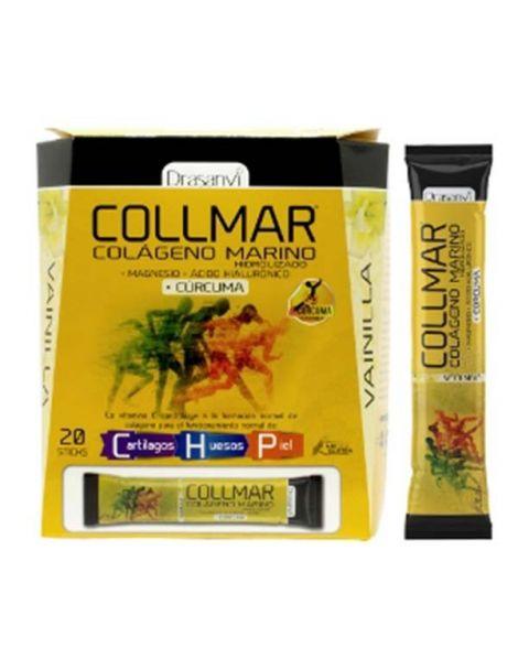 Collmar Magnesio + Cúrcuma Vainilla Drasanvi - 20 sticks