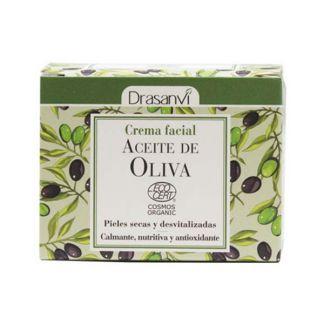 Crema Facial de Aceite de Oliva Drasanvi - 50 ml.