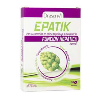 Epatik Detox Drasanvi - 30 comprimidos