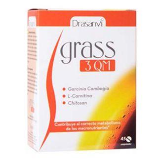 Grass 3 QM Drasanvi - 45 comprimidos