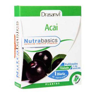 Nutrabasics Acai Drasanvi - 30 cápsulas