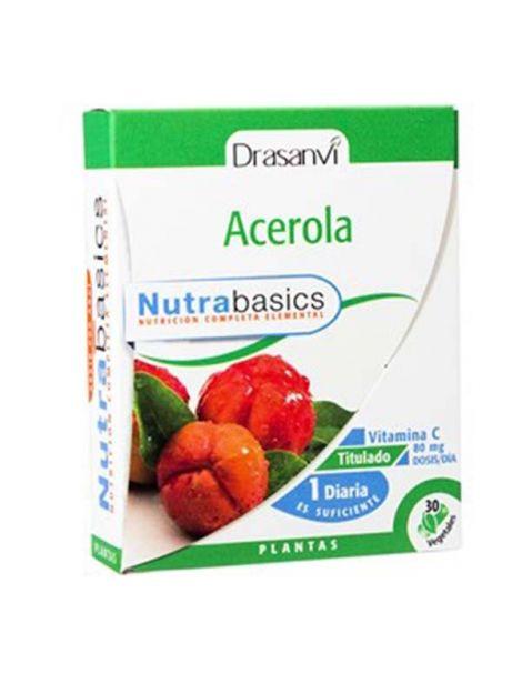 Nutrabasics Acerola Drasanvi - 30 cápsulas