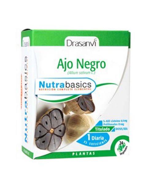 Nutrabasics Ajo Negro Drasanvi - 24 cápsulas
