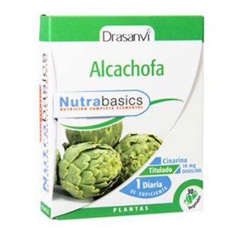 Nutrabasics Alcachofa Drasanvi - 30 cápsulas