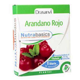 Nutrabasics Arándano Rojo Drasanvi - 30 cápsulas
