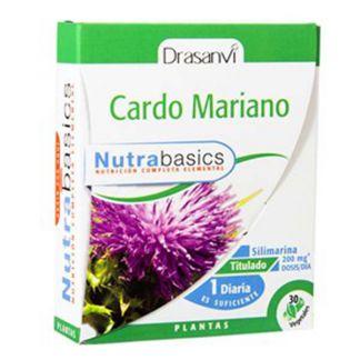 Nutrabasics Cardo Mariano Drasanvi - 30 cápsulas