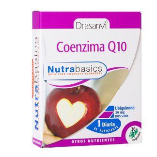 Nutrabasics Coenzima Q10 Drasanvi - 30 cápsulas