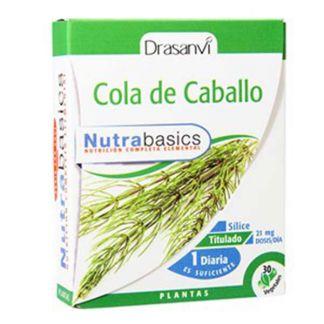 Nutrabasics Cola de Caballo Drasanvi - 30 cápsulas