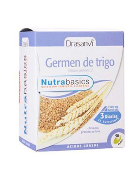 Nutrabasics Germen de Trigo Drasanvi - 90 perlas