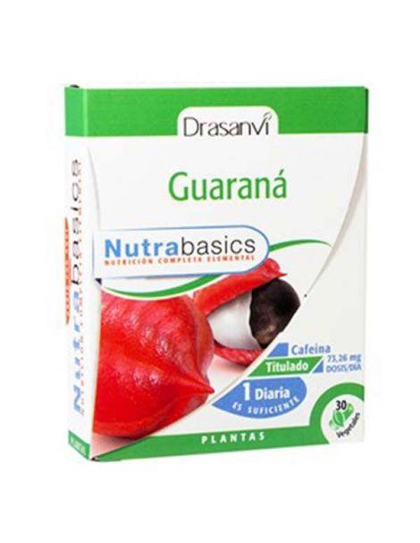 Nutrabasics Guaraná Drasanvi - 30 cápsulas