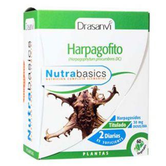 Nutrabasics Harpagofito Drasanvi - 60 cápsulas