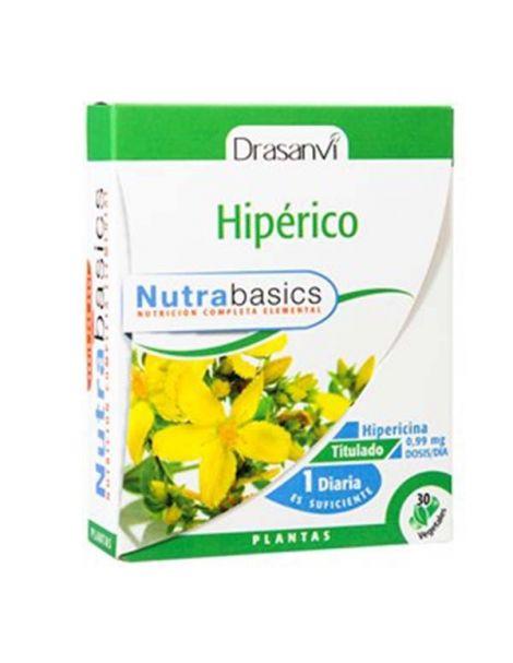 Nutrabasics Hipérico Drasanvi - 30 cápsulas