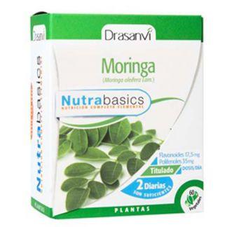 Nutrabasics Moringa Drasanvi - 60 cápsulas
