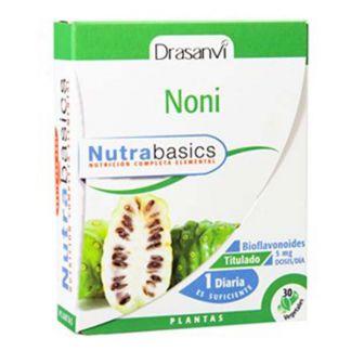 Nutrabasics Noni Drasanvi - 30 cápsulas
