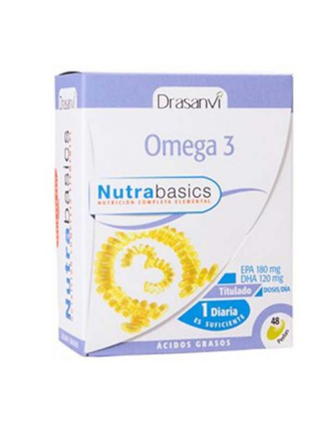 Nutrabasics Omega 3 Drasanvi - 48 perlas