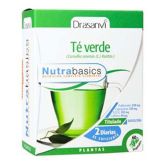 Nutrabasics Té Verde Drasanvi - 60 cápsulas
