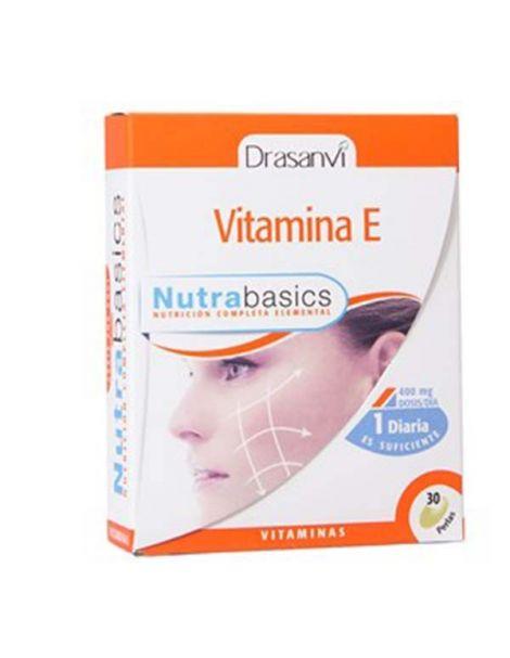 Nutrabasics Vitamina E Drasanvi - 30 perlas