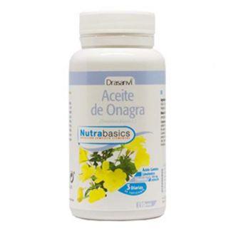Nutrabasics Aceite de Onagra Drasanvi - 110 perlas